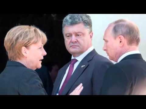 Vladimir Putin meets Petro Poroshenko in France  BREAKING NEWS MUST SEE