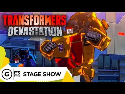 Stage Demo: Transformers: Devastation - E3 2015