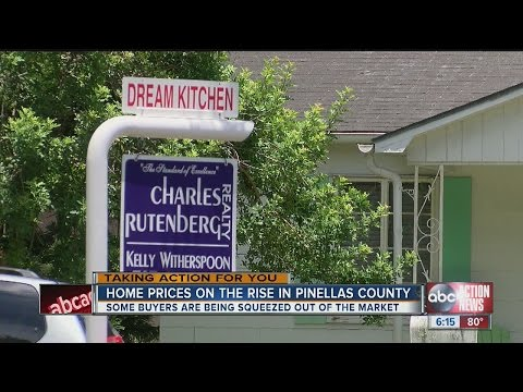 Pinellas County home prices sky rocket in the last year