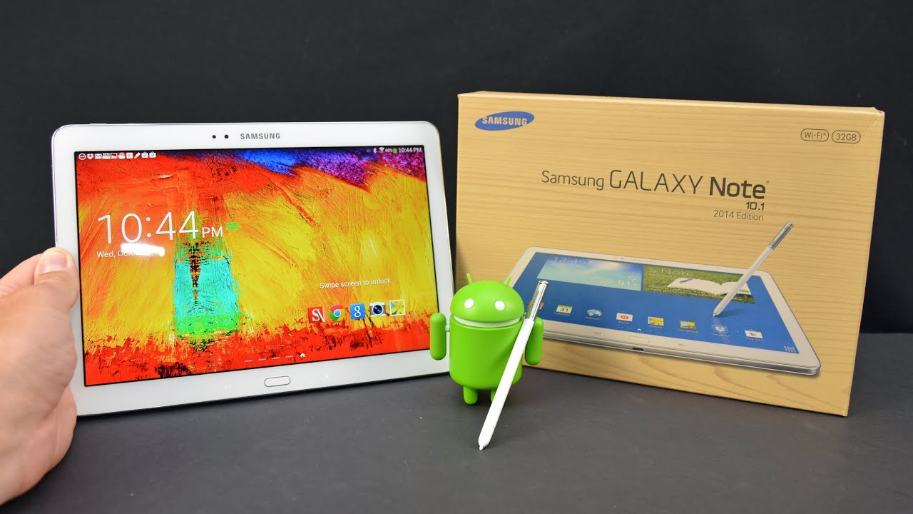 Samsung Galaxy Note 10.1 (2014 Edition): Unboxing & Review ...