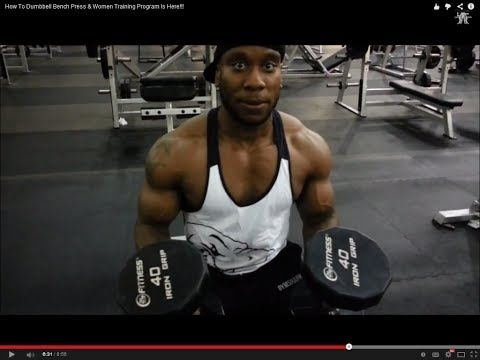 How To Dumbbell Bench Press & Women Training Program Is Here!!! Image 1
