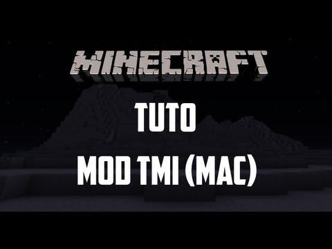 Minecraft - Tutoriel Too Many Items [TMI] 1.5.2 (Mac) [FR]