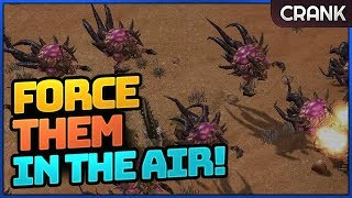StarCraft 2: Force Them in the Air and Counter!