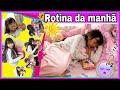 🍿MINHA ROTINA DA MANHÃ ANTES DE IR PARA ESCOLA JAPONESA/MY ROUTINE PIPOCANDO COM AMANDA