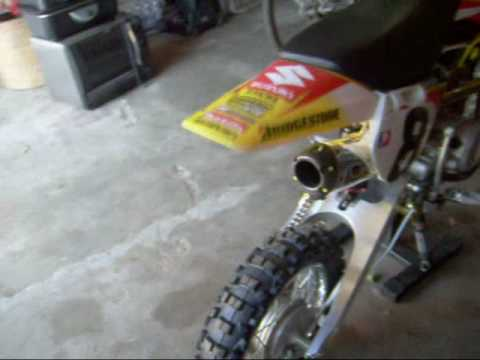 Kawasaki KLX110 Sound Check Video