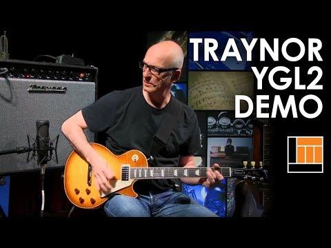 Kim Mitchell - Traynor YGL2 Guitar Amp Demo
