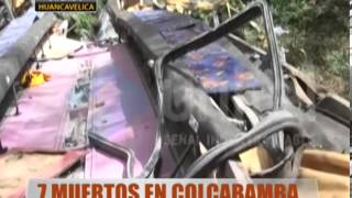 7 Muertos En Colcabamba