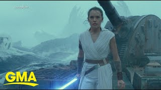 New 'Star Wars' trailer explodes online l GMA