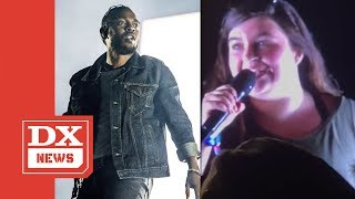 Kendrick Lamar Calls Out White Fan For Rapping N-Word On Stage