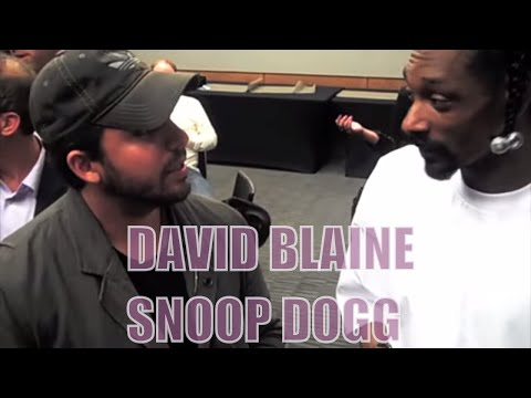 David Blaine Showing Snoop Dogg His Magic