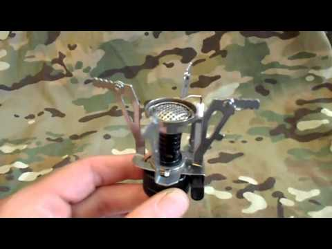 $8 Mini Propane/Butane Backpacking stove review