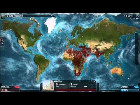 Plague Inc: Evolved Mega Brutal Walkthrough - Necroa Virus