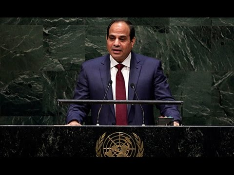 كلمة الرئيس السيسي امام الجمعية العامة للامم المتحدة