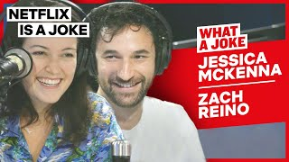 Jessica McKenna & Zach Reino Improv A Berry Good Musical | What A Joke | Netflix Is A Joke