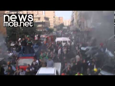 Deadly car bomb explosion in Beirut, Lebanon