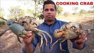 Cooking Crab Curry - Crab Recipe - Crab Curry South Indian Style - How to Clean and Cook Crabs