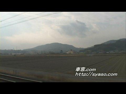 4)【車窓】「ハウステンボス」13号 佐賀~肥前山口