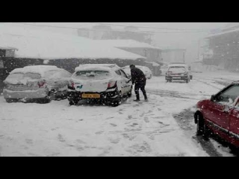 Heavy snowfall in Himachal Pradesh