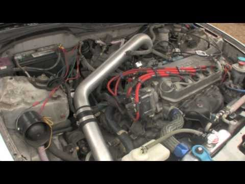 How to replace the ignition coil pack on a Honda Civic D16y7