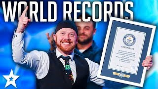 Download Lagu GUINNESS WORLD RECORDS on Britain's Got Talent 2017 | Got Talent Global Gratis STAFABAND