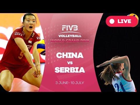 China v Serbia - Group 1: 2016 FIVB Volleyball World Grand Prix