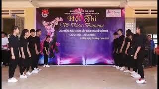 Hội thi vũ điệu Banama trường THPT Trần Cao Vân Chư Sê Gia Lai