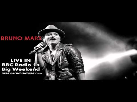 Locked Out Of Heaven - Bruno Mars Live In BBC Radio 1s Big Weekend