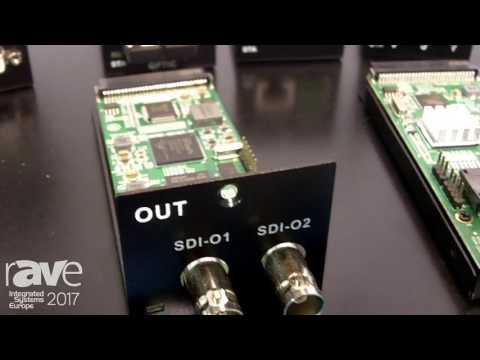 ISE 2017: Cuanbo Explains Multivideo Plus Flexible Switcher Matrix