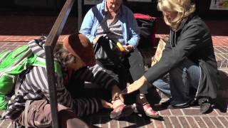 Holy Spirit heals precious Woman's foot - It's a Miracle healing! - Imsozoed