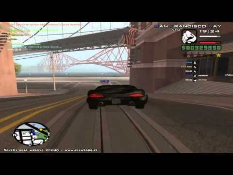 CZ Lets Play GTA San Andreas 02  Honička s policií