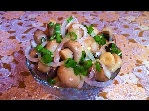 Маринованные Шампиньоны (Закуска) / Маринованные Грибы / Marinated Mushrooms / Простой Рецепт