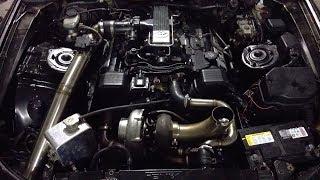 Turbo 1uz v8 burnout gone wrong and ecu wiring Toyota soarer SC400