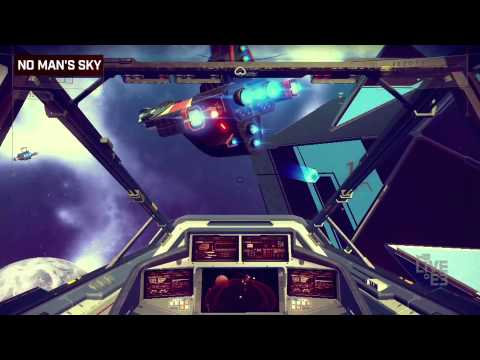 No Man's Sky - Interview and Exclusive Footage [YouTube Live at E3]