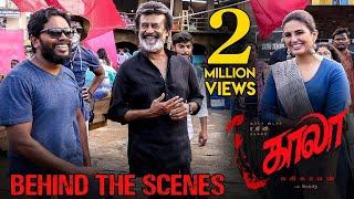 Kaala (Tamil) - Behind The Scenes featuring Theruvilakku Song   Rajinikanth   Pa Ranjith