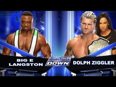 WWE Smackdown Big E Langston Vs Dolph Ziggler HD