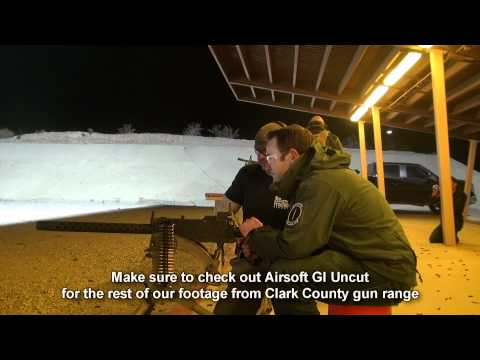 Airsoft GI - Tim and Bob Shoot Barrett 50 Cal, M240 Bravo, M249 and MORE!