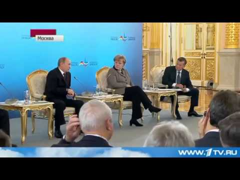 Громкий Скандал в прямом эфире Путин VS Меркель!
