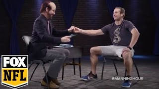 Drew Brees goes 'inside the over-actors studio' | FOX NFL KICKOFF #MANNINGHOUR