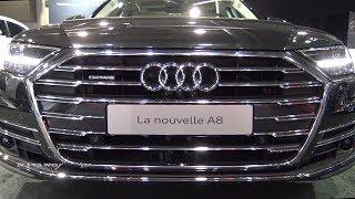2019 Audi A8L Quattro - Exterior And Interior Walkaround - 2018 Quebec Auto Show