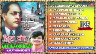 HITS OF ANILKUMAR KHOBRAGADE, Marathi Bheembuddh Geete I Full Audio Songs Juke Box