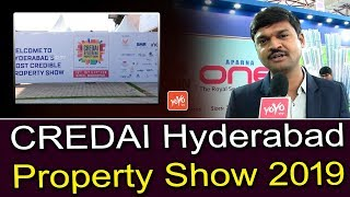 CREDAI Hyderabad Property Show 2019 in Hitex | Real Estate in Hyderabad