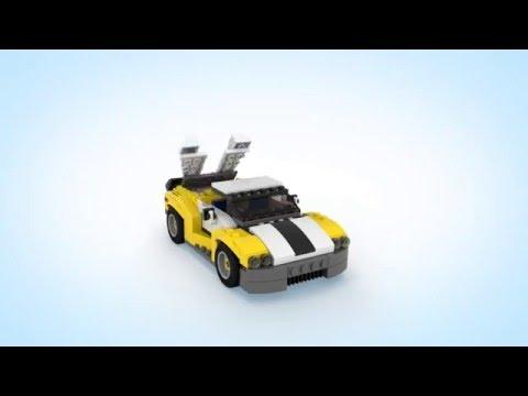 LEGO Creator 31046 Rychlé auto od Maxikovy-hracky.cz