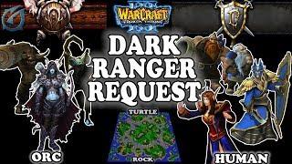 Grubby | Warcraft 3 TFT | 1.29 | ORC v HU on Turtle Rock - Dark Ranger Request