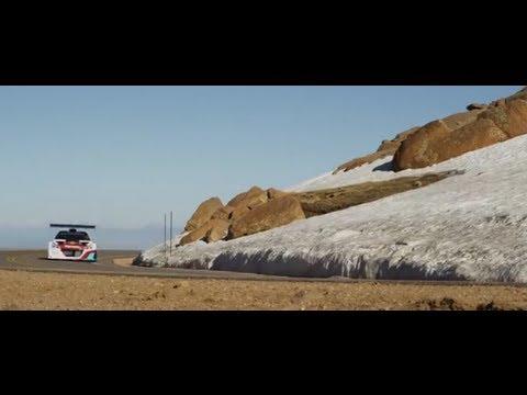 Test Loeb Peugeot 208 T16 Pikes Peak