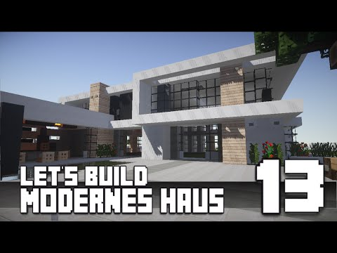 Minecraft modern house 3 modernes haus hd how to for Modernes haus minecraft