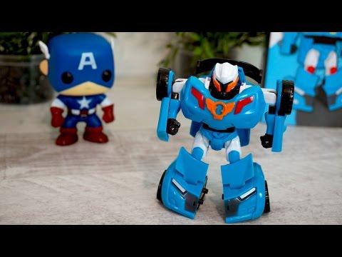 Tobot car toys transformers robot cars - Video for children - 또봇 장난감 놀이