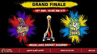 LIVE CPL T20 FINAL 2020 | Trinbago Knight Riders v St Lucia Zouks #CPL20 #CPLFinal