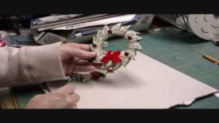 Make A Money Christmas Wreath!