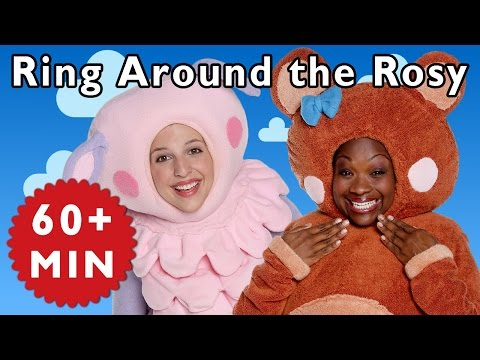 Ring Around the Rosy and More | Nursery Rhymes from Mother Goose Club!