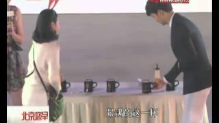 20141217 KimSooHyun BTV新聞 北京您早 盛贊金秀賢Cut